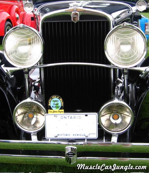 Nash Eight Headlights